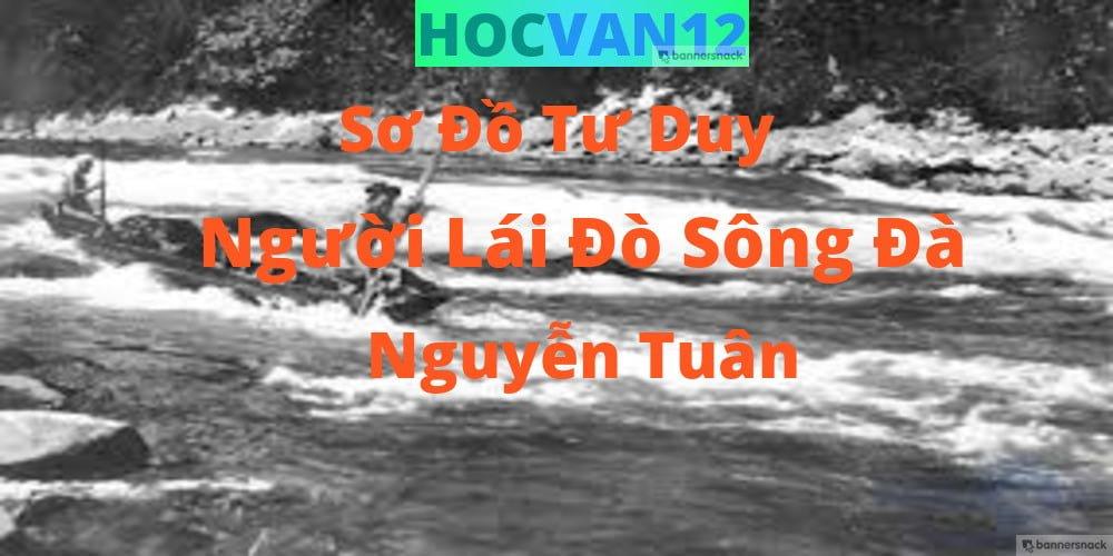 Sơ Đồ Tư Duy Người Lái Đò Sông Đà ngắn gọn